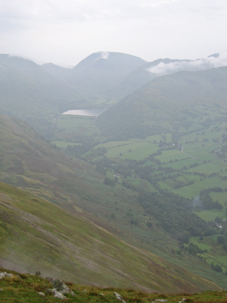 Brothers Water with Red Screes behind and Hartsop Above How on its right