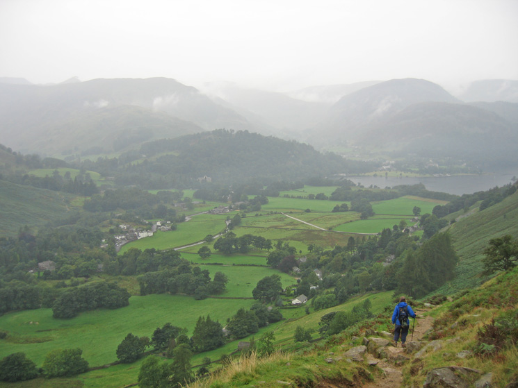 Descending to Patterdale from Boredale Hause