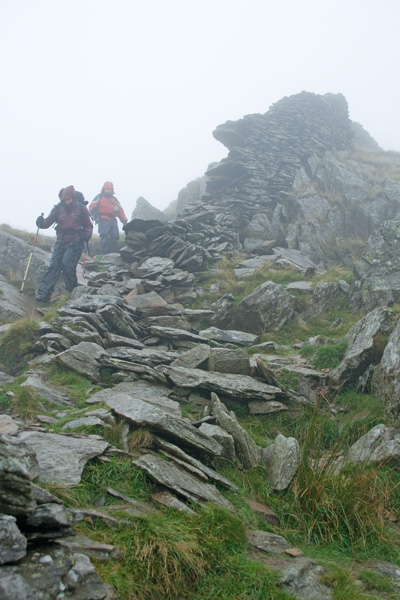 Descending from High Pike