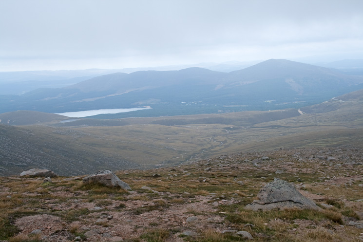 Loch Morlich to the north