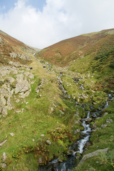 The incline, Mines Gill