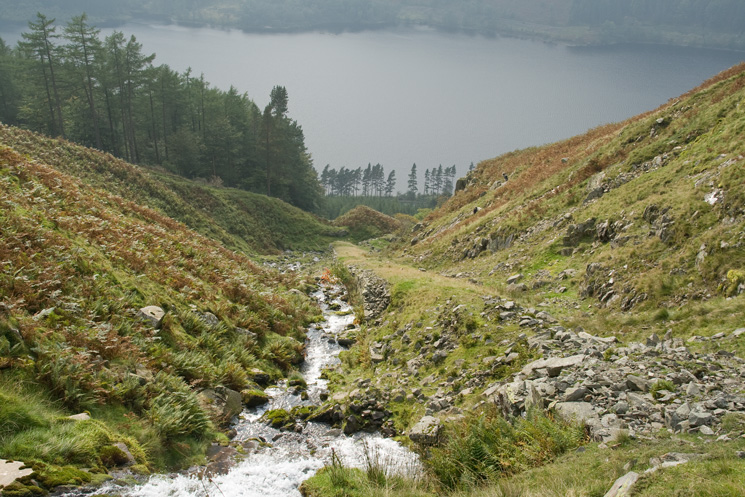 Thirlmere is now far below