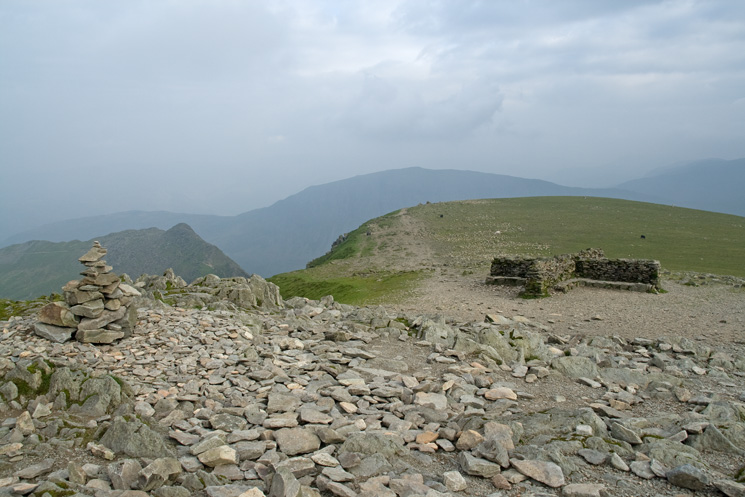 Helvellyn's summit cairn takes on another new design