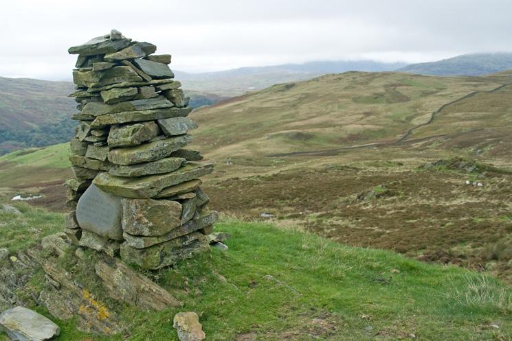 Whiteside Pike's summit cairn