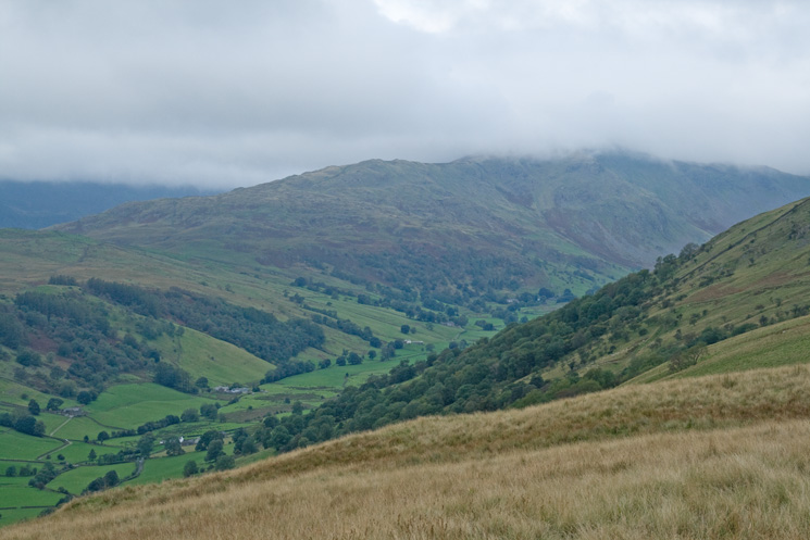 Shipman Knotts out of the cloud but not the top of Kentmere Pike