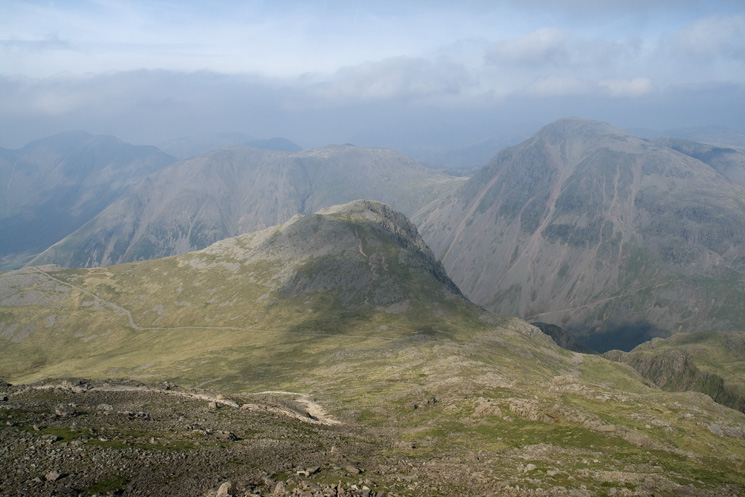 Lingmell from Scafell Pike