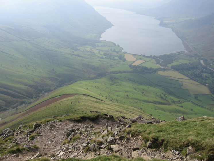 Wastwater from Lingmell's west ridge