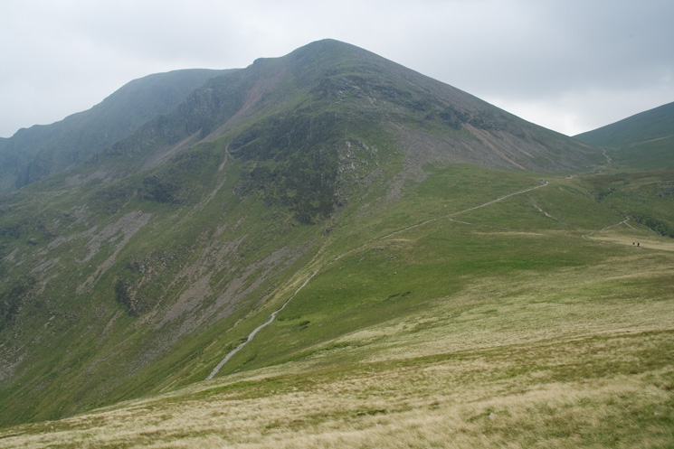 Looking across Coledale Hause to Eel Crag