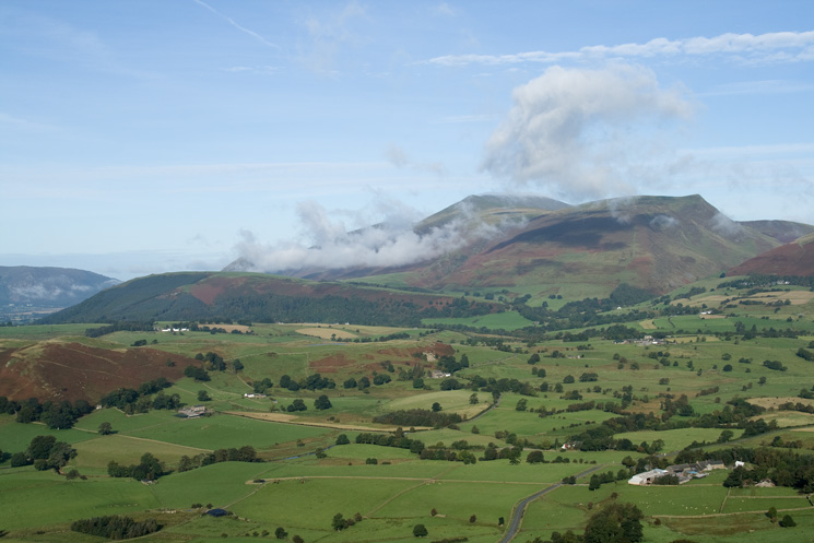 Latrigg, Skiddaw and Lonscale Fell