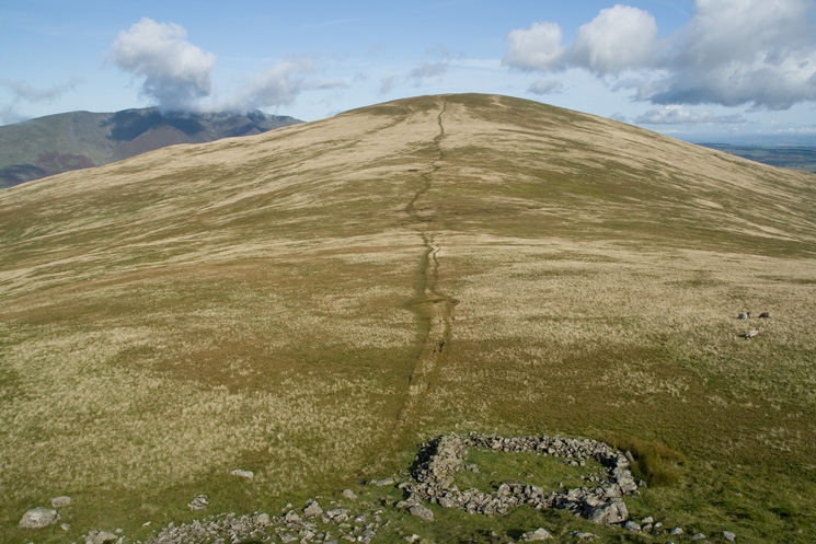 Clough Head from the summit of Calfhow Pike
