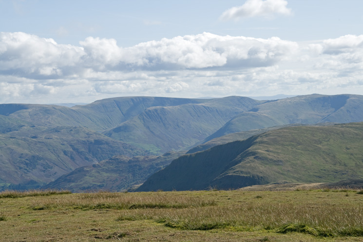 High Street and Gray Crag from Stybarrow Dodd's summit