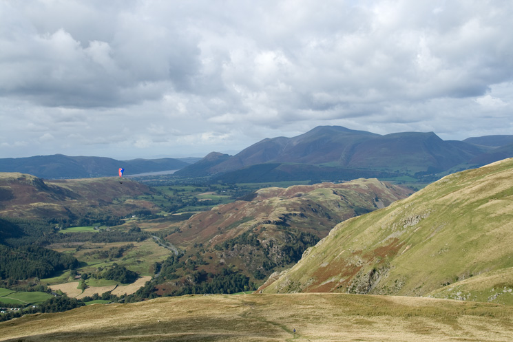 High Rigg with the Skiddaw fells behind