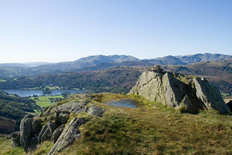 Stone Arthur's summit