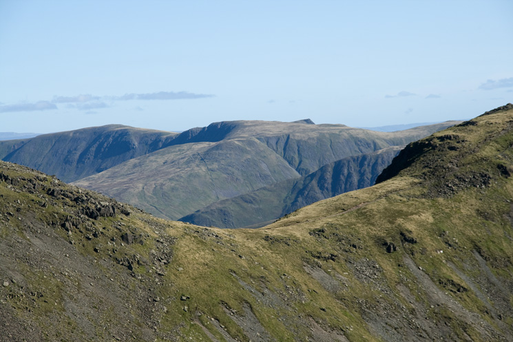 Link Hause with the far eastern fells beyond