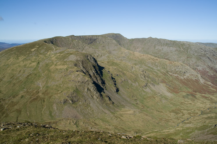 Dollywaggon Pike to Helvellyn
