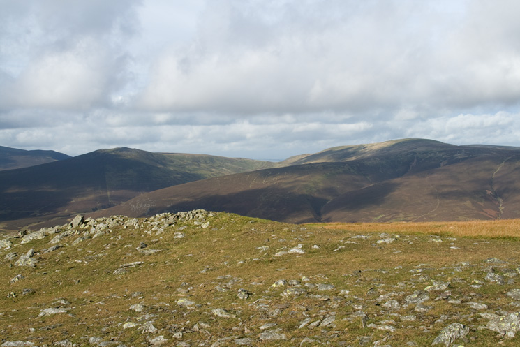 Great Calva and Knott from Bowscale Fell