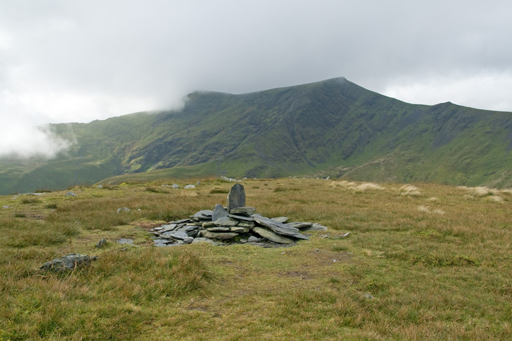 Blencathra from Bannerdale Crags summit cairn