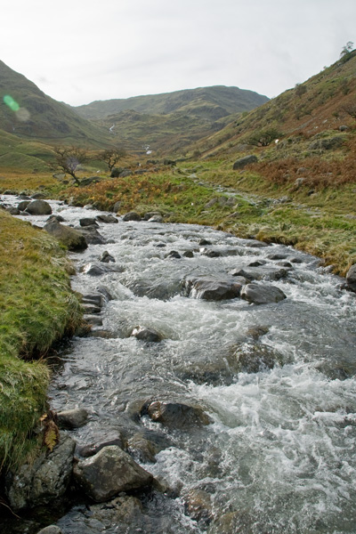 Mardale Beck, looking towards Mardale Ill Bell