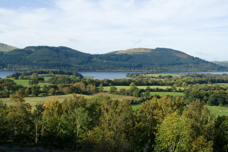 Looking across Bassenthwaite Lake to Ladies Table and Sale Fell