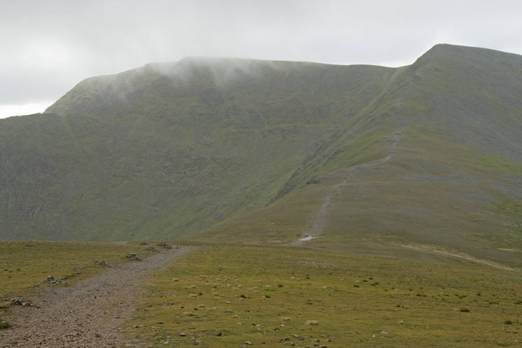 Helvellyn and Lower Man from White Side