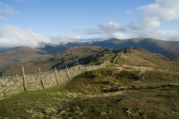 The ridge to Baystones (Wansfell) from Wansfell Pike
