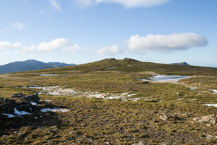 Approaching Robinson's summit