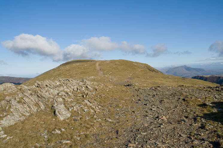 Approaching the summit of Hindscarth