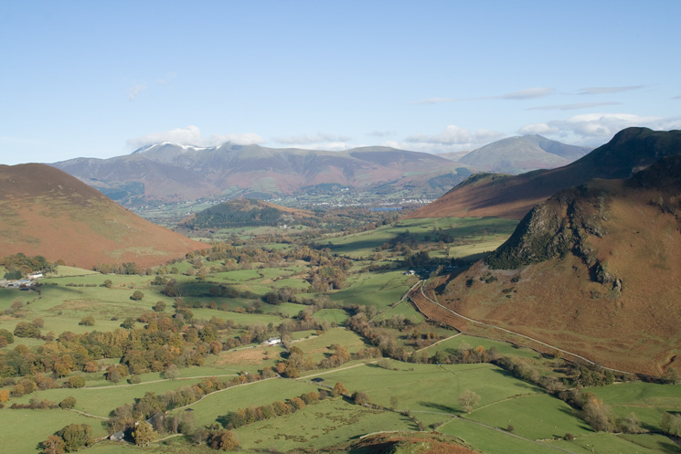 The Newlands Valley from Scope End