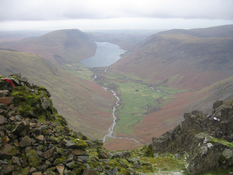 Wasdale from the Westmorland Cairn