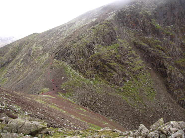 Windy Gap from Green Gable