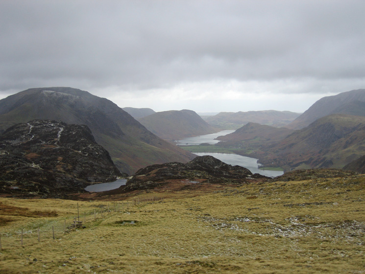 Blackbeck Tarn, Buttermere and Crummock Water