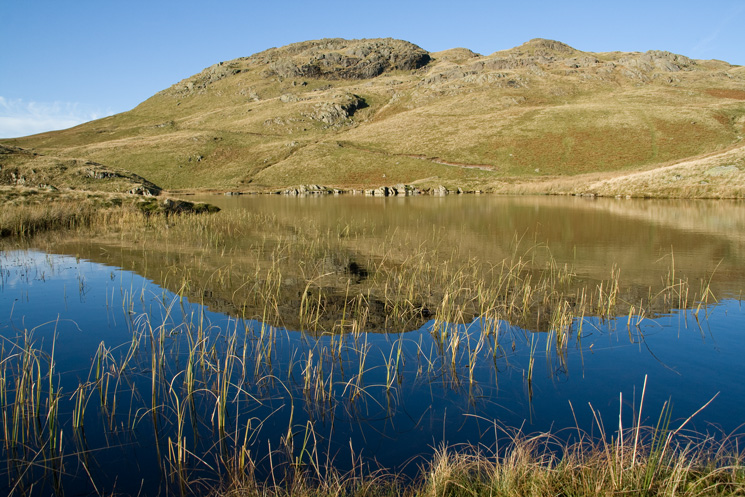 Angle Tarn and one of its pikes