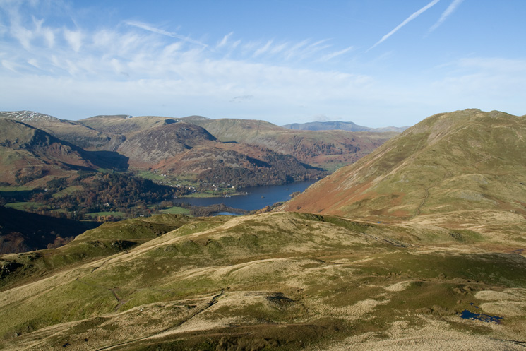 The head of Ullswater and Place Fell