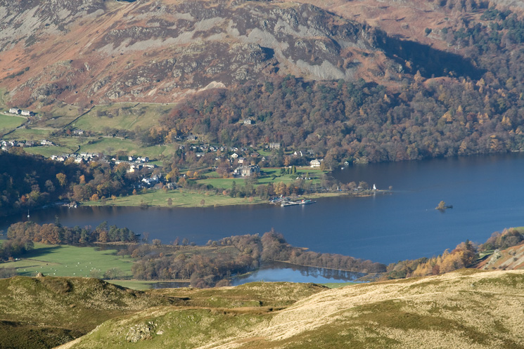 Glenridding at the head of Ullswater