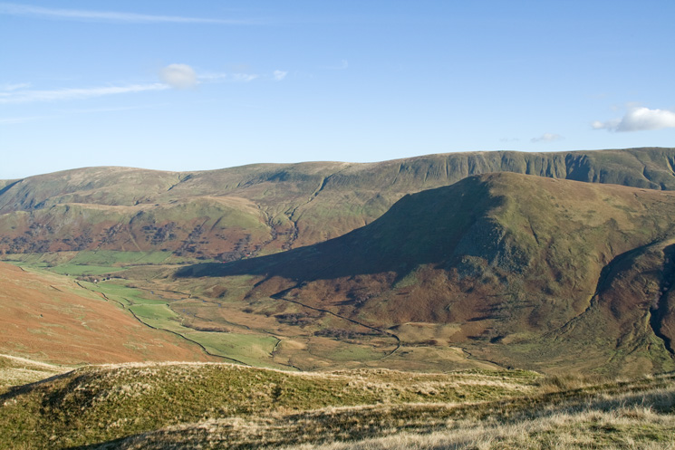 Bannerdale, The Nab and the northern part of the High Street ridge