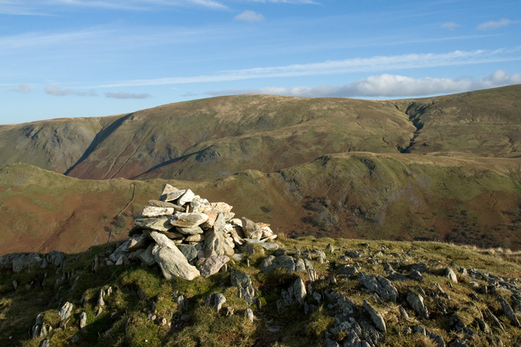Loadpot Hill from Beda Fell's summit cairn
