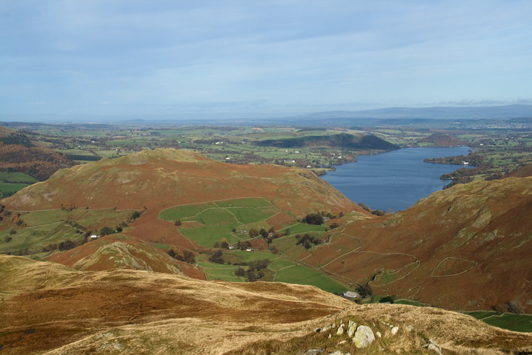 Hallin Fell and Ullswater from Beda Head
