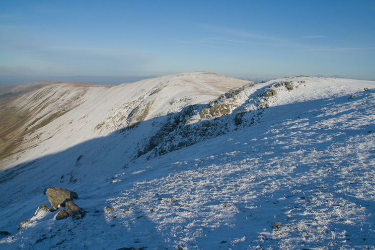 North along the High Street ridge from Rampsgill Head