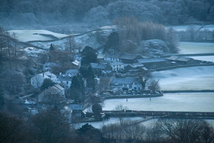 A cold looking Rosthwaite