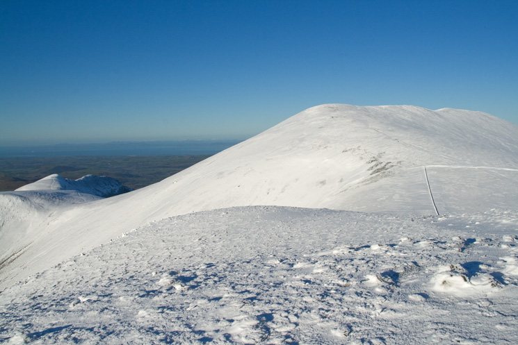 Skiddaw from Little Man