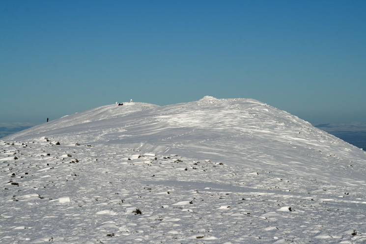 Skiddaw's summit ridge