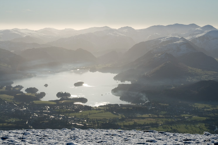 Derwent Water and the central high fells