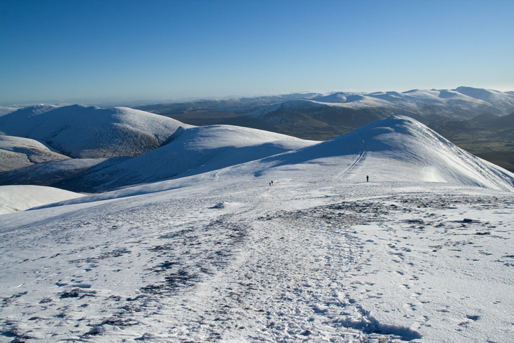 Blencathra, Lonscale Fell and Skiddaw Little Man