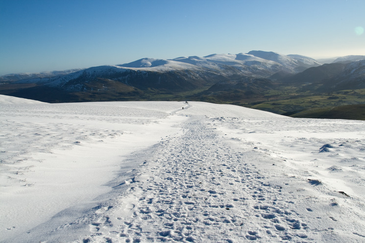 The Helvellyn range from Jenkin Hill