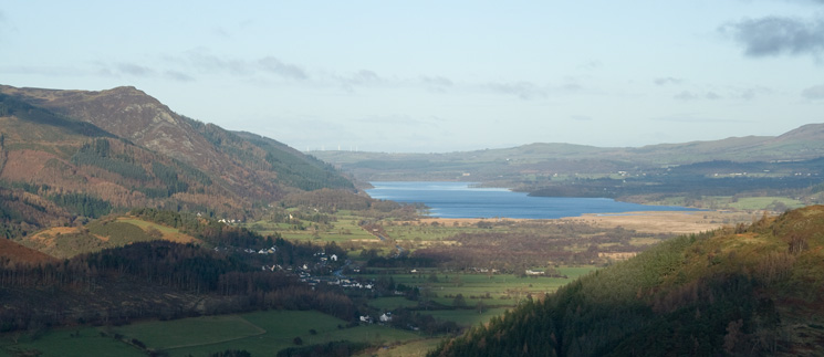 Looking north to Bassenthwaite Lake with Barf to its left