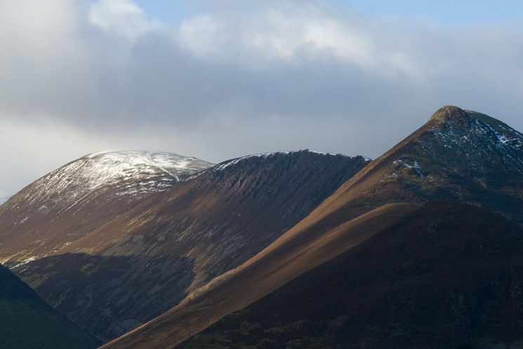 Sail, Scar Crags and Causey Pike