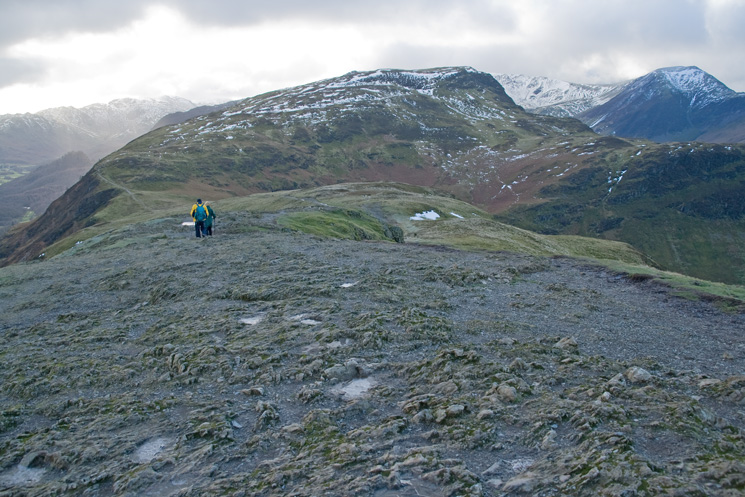 Maiden Moor from Catbells' summit