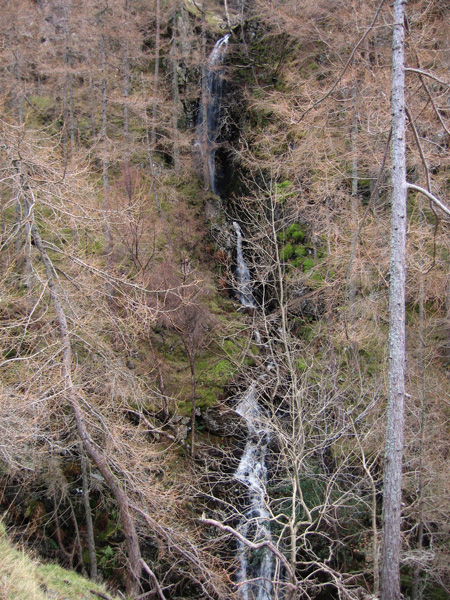 Waterfall in Cat Gill
