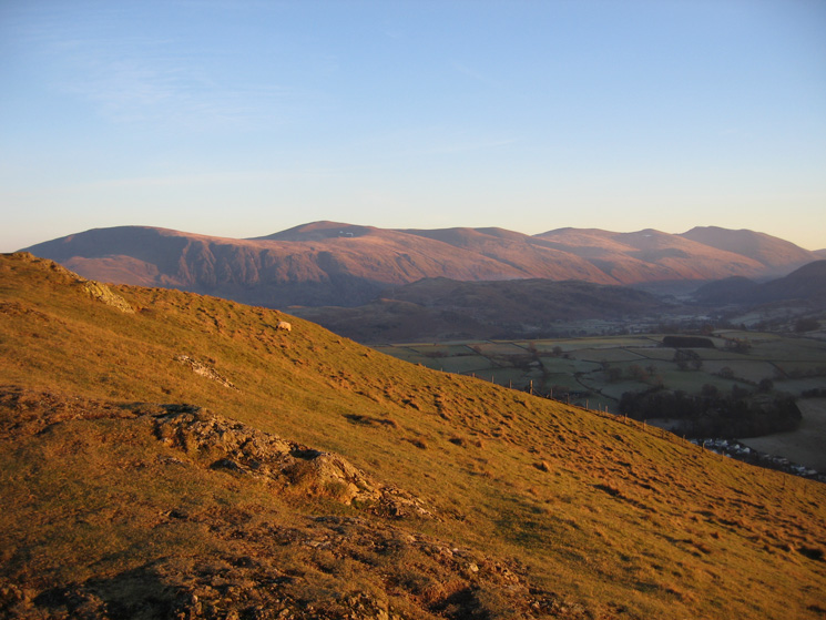 The Helvellyn ridge
