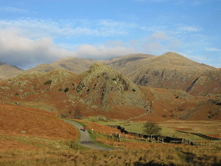 The Bell with Wetherlam behind from the fell gate at the Coniston end of the Walna Scar Road